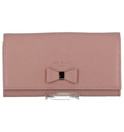 Roze Clutch Ted Baker Abriana in lakleer (227270)