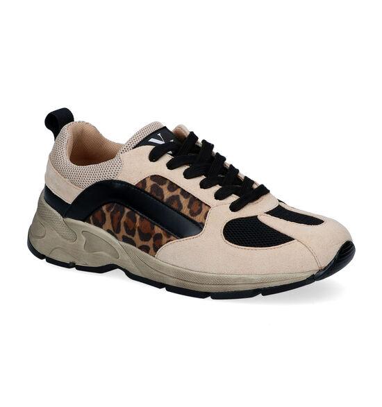 Vanessa Wu Beige Sneakers