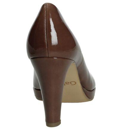 Gabor Escarpins classique en Marron en cuir verni (184833)
