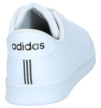 adidas Advantage CL Witte Sneakers, Wit, pdp