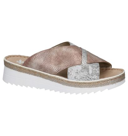 Rieker Roze Slippers, Multi, pdp