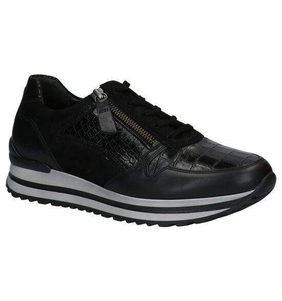 Gabor OptiFit Zwarte Sneakers