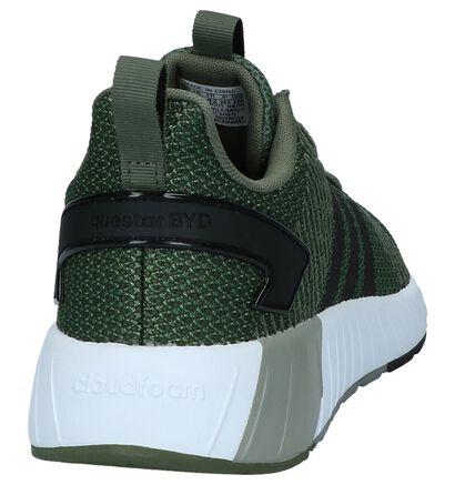 adidas Questar BYD Licht Grijze Sneakers in stof (221614)