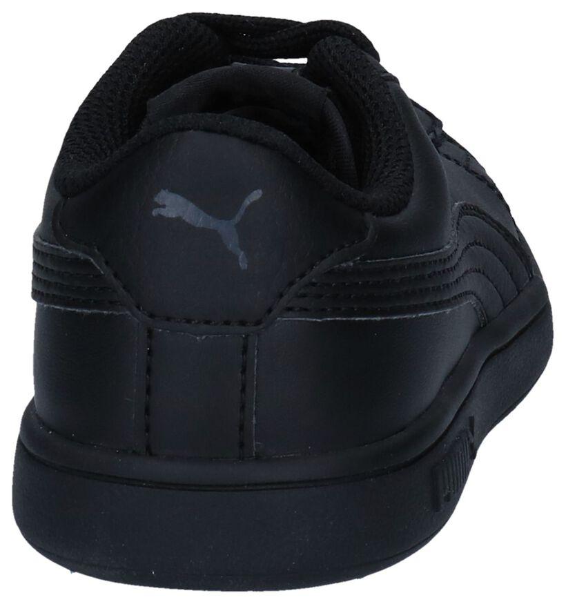 Smash Baskets basses en Noir en cuir (252637)