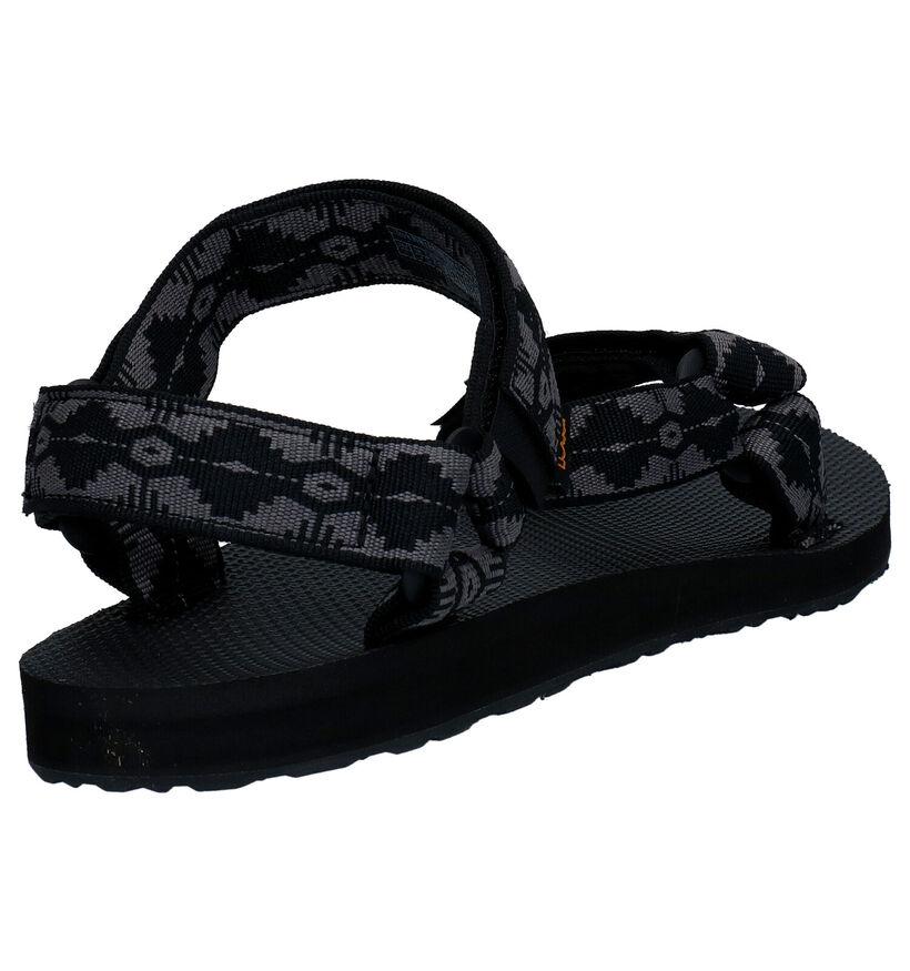 Teva Original Sandales en Gris en textile (270619)