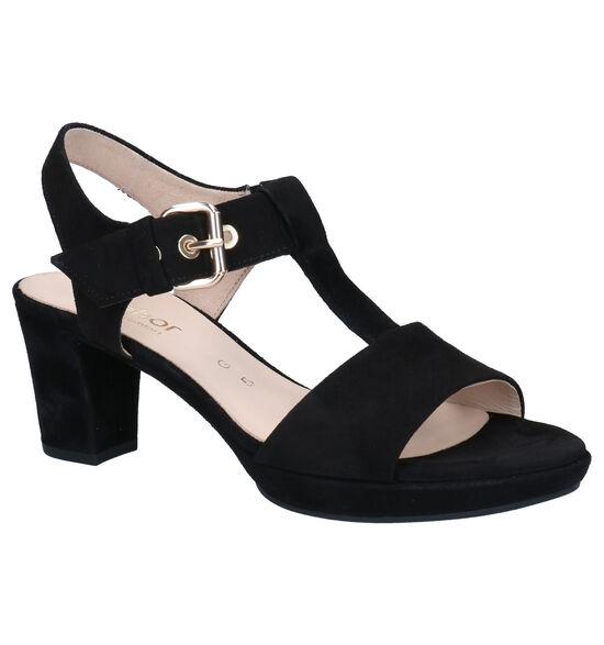 Gabor Comfort  Sandales en Noir