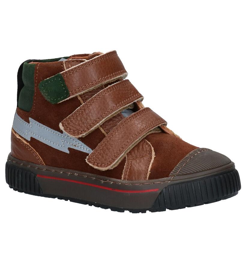 Milo & Mila Chaussures hautes en Marron en cuir (256361)