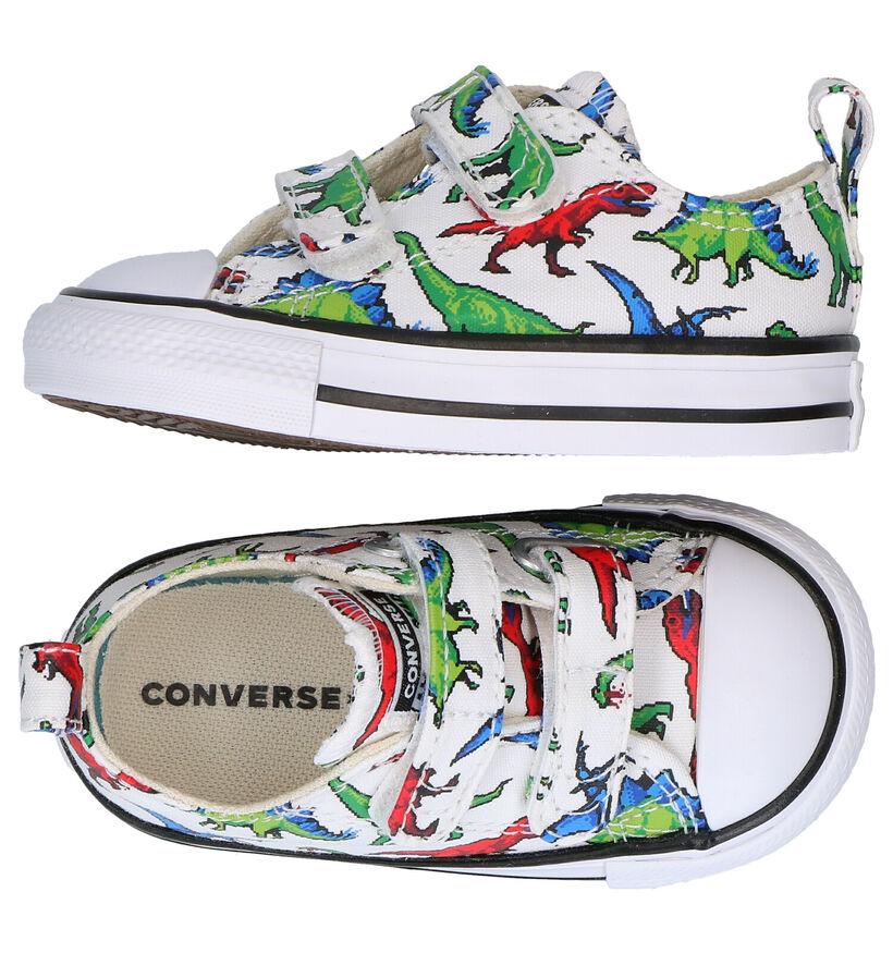 Converse CT AS Digital Witte Sneakers in stof (286174)