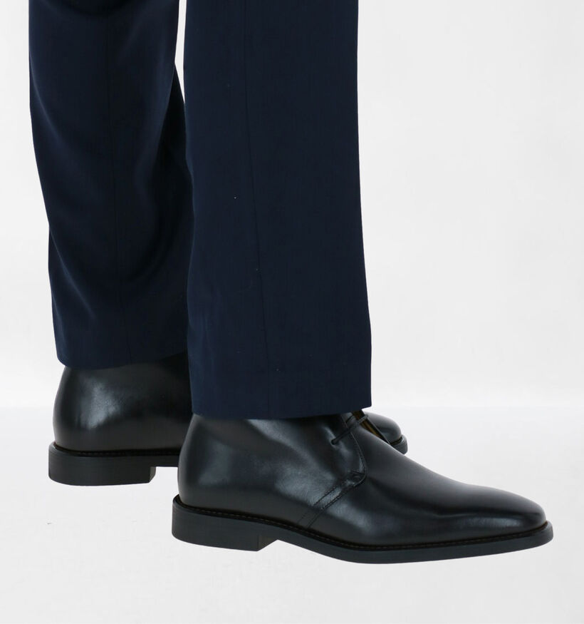 Steptronic Mitcham Bottines en Noir en cuir (281383)