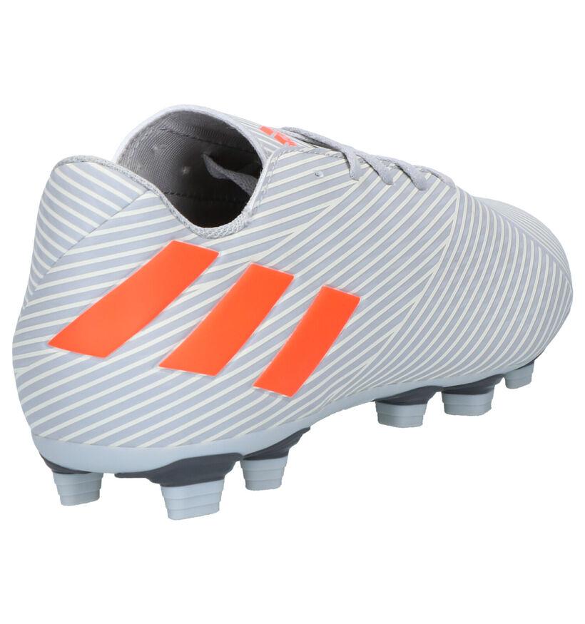 adidas Nemeziz 19.4 FXG Grijze Voetbalschoenen in kunstleer (262574)
