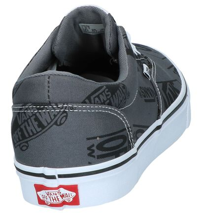 Vans Doheny Zwarte Skateschoenen in stof (253473)