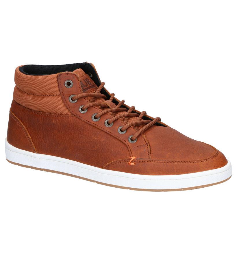 Hub Industry 2.0 Chaussures Hautes en Gris en cuir (279396)