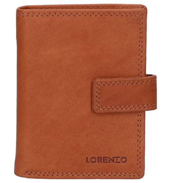 Euro-Leather Cognac Kaartenhouder