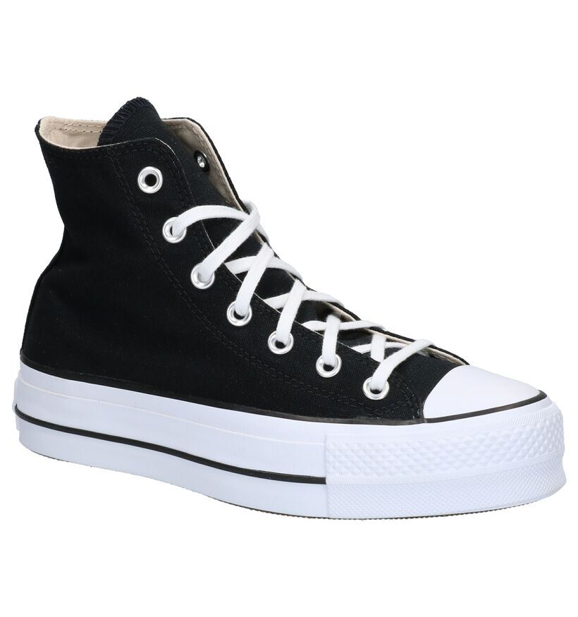 Converse AS Lift HI Witte Sneakers in stof (266480)