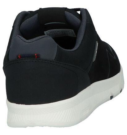 Zwarte Sneakers Jack & Jones Dalston in daim (226254)