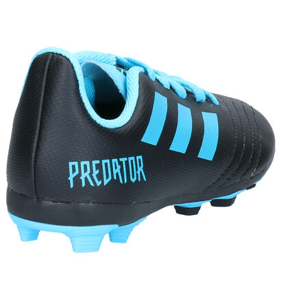 adidas Predator Zwarte Voetbalschoenen in imitatieleer (252893)