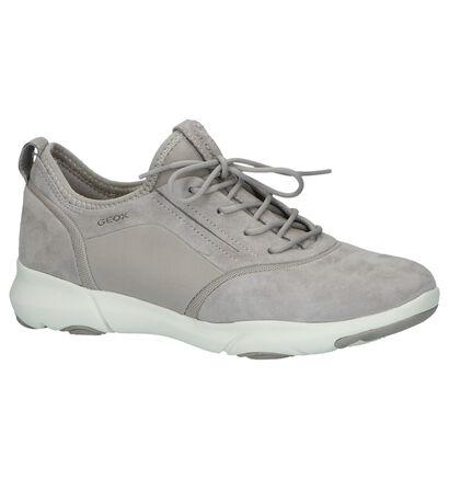 Geox Lichtgrijze Sneakers, Grijs, pdp