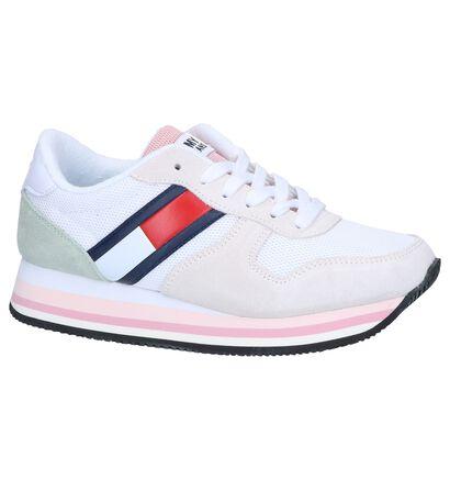 Tommy Jeans Baskets basses en Blanc en daim (241772)