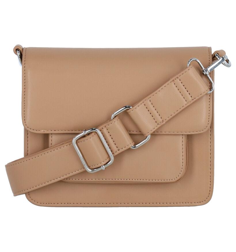Hvisk Cayman Pocket Soft Vegan Sac porté croisé en Brun en simili cuir (287581)