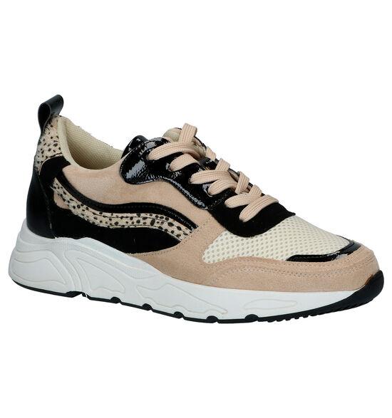 Poelman Beige Sneakers