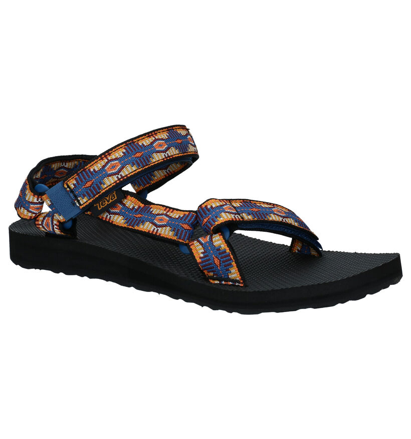 Teva Original Sandales en Bleu en textile (289245)