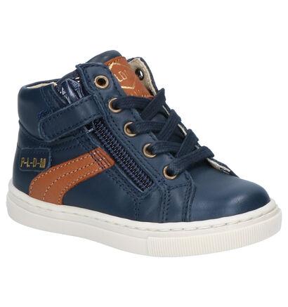 P-L-D-M By Palladium Poco Chaussures Hautes en Bleu en cuir (256247)