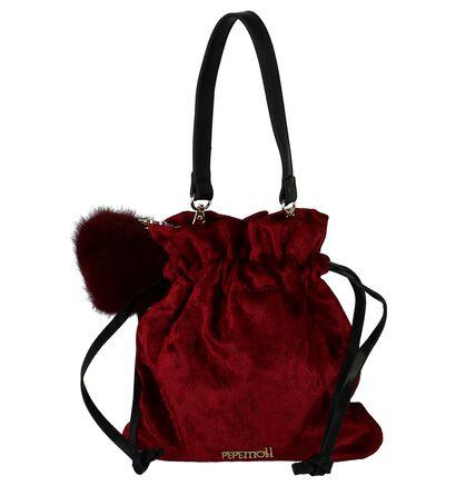 Bordeaux Bucket Bag Pepe Moll in velours (234827)