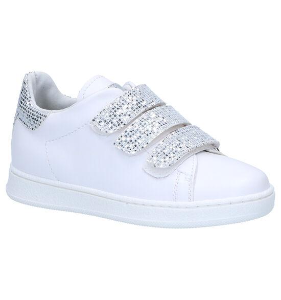 K3 Witte Velcroschoenen