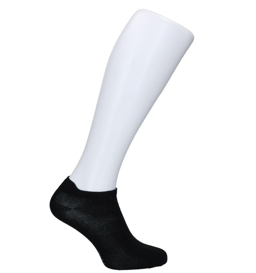 Teckel Socks Socquettes en Noir (292402)