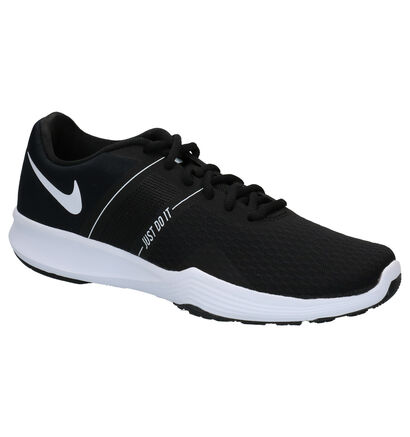 Nike City Trainer 2 Zwarte Sneakers in stof (266530)