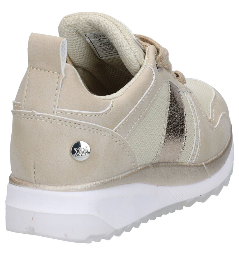 Xti Kids Beige Sneakers in kunstleer (281198)