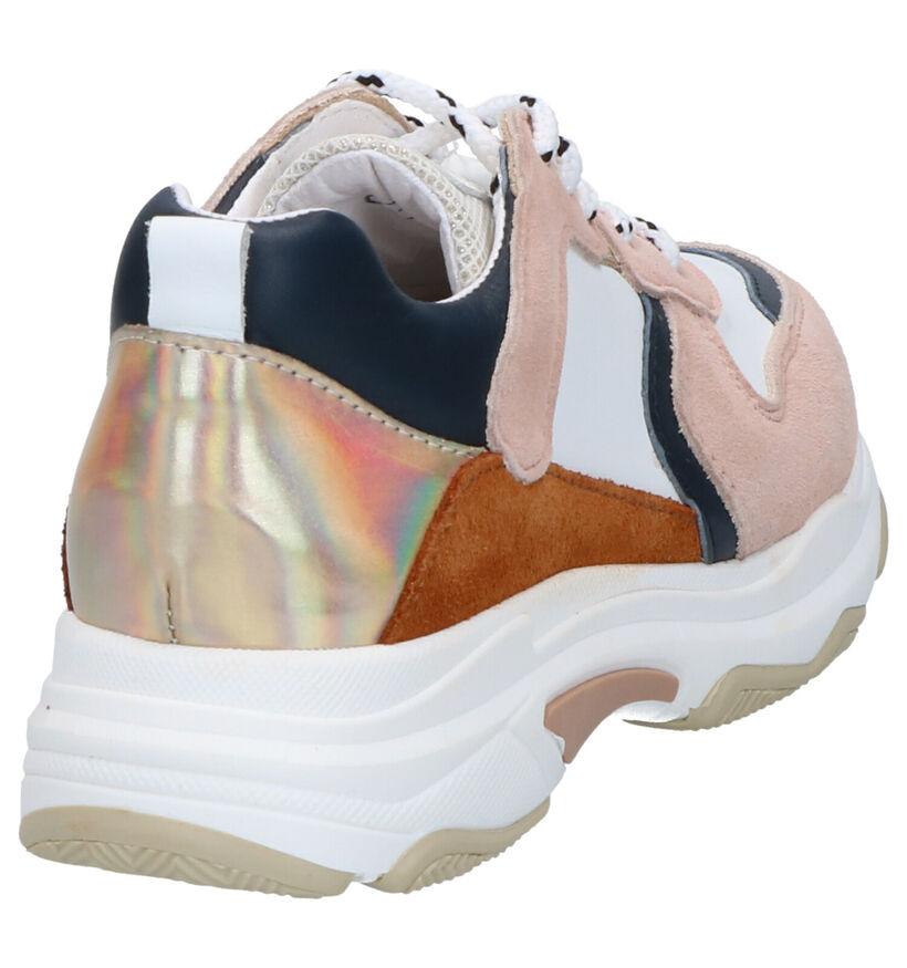 Hampton Bays Baskets basses en Multicolore en cuir (275397)