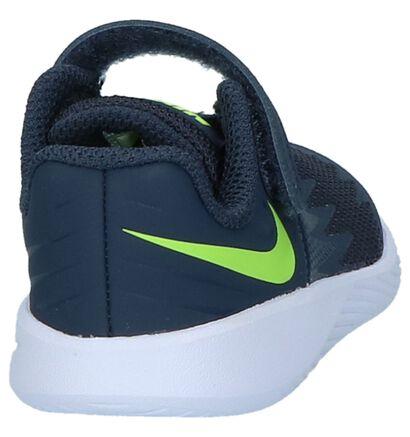 Blauwe Babysneakers Nike Star Runner in kunstleer (209997)