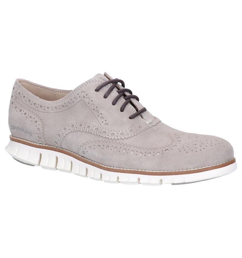 Cole Haan Chaussures basses en Gris en daim (267613)