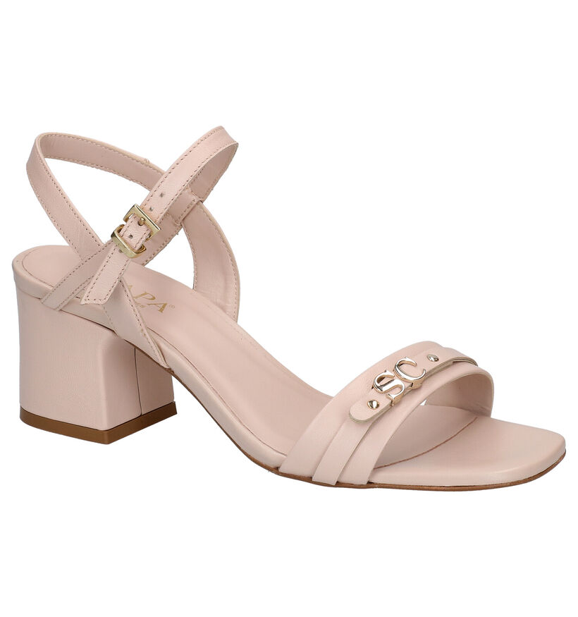 Scapa Roze Sandalen in leer (270313)