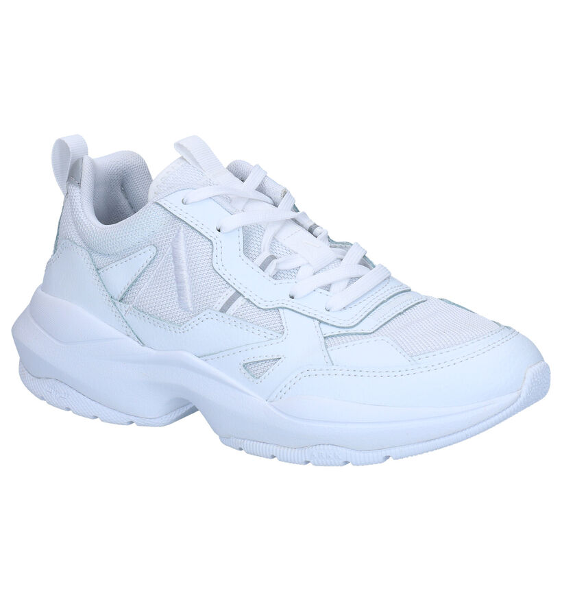 ARKK Quantm Baskets en Blanc en cuir (270980)