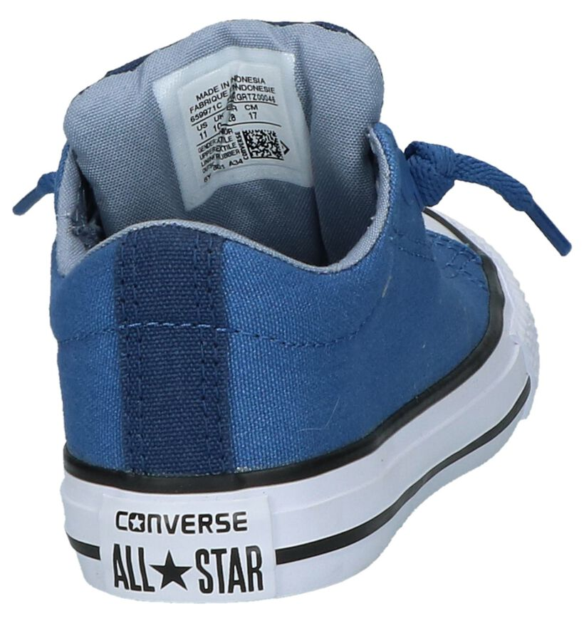 Grijze Sneakers Converse Chuck Taylor All Star Street Slip in stof (210281)