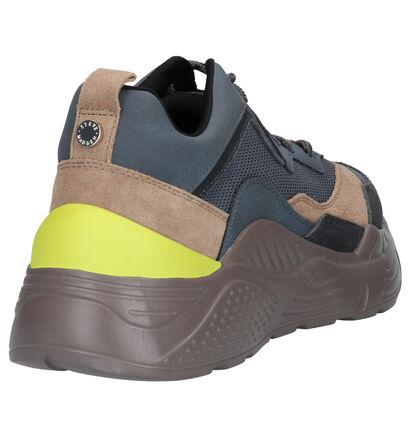 Steve Madden Antonia Sneakers Grijs in daim (263449)