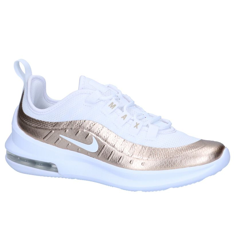 Nike Air Max Baskets basses en Blanc en simili cuir (249999)