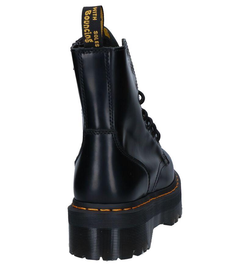 Dr. Martens Jadon Zwarte Boots in leer (276484)