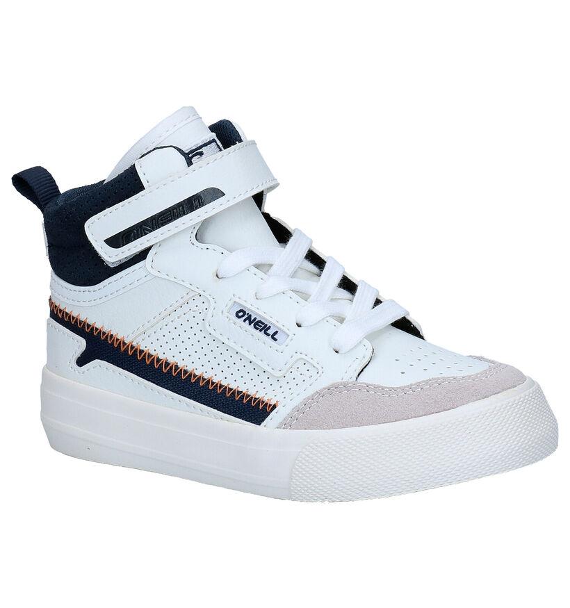 O'Neill Trestless High JR Zwarte Sneakers in kunstleer (279674)