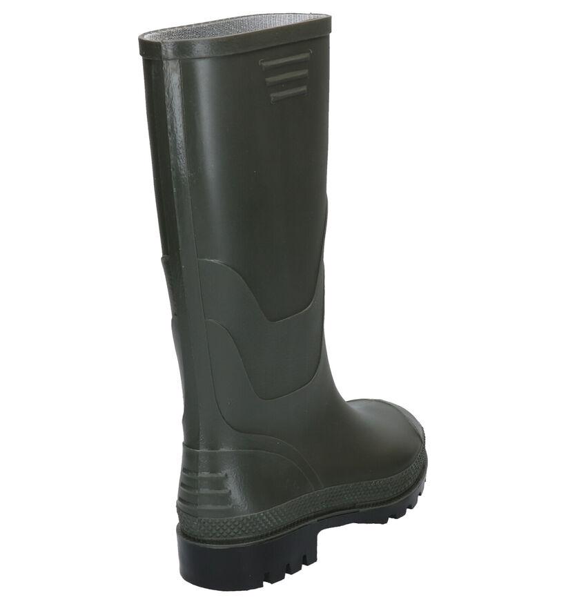 Dazzle Bottes de pluie en Vert kaki en synthétique (276795)