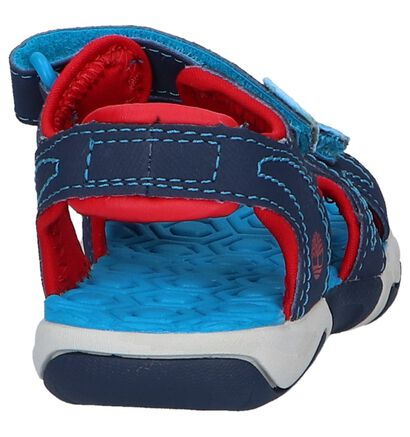 Timberland ADVSKR Sandales en Bleu en textile (212178)