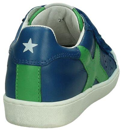 Little David Donker Blauwe Velcroschoenen, Blauw, pdp