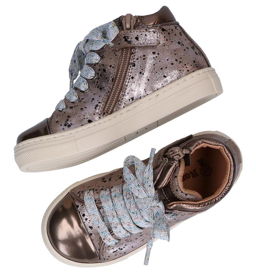 Romagnoli Chaussures hautes en Or en cuir (281534)