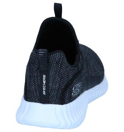 Zwarte Slip-on Sneakers Skechers Memory Foam, Zwart, pdp