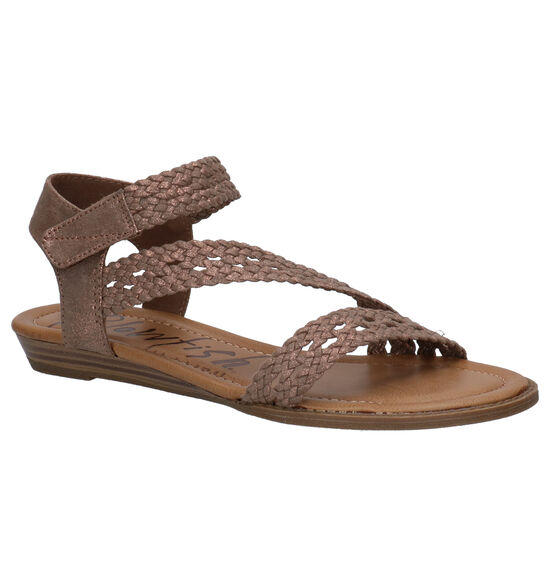 Blowfish Malibu Besille Vegan Bronzen Sandalen