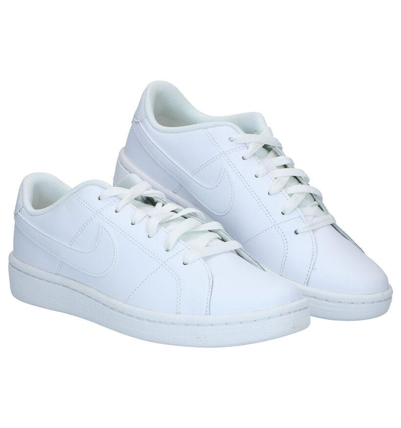Nike Court Royale Zwarte Sneakers in leer (290967)