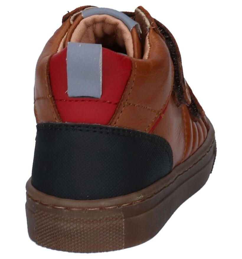 FR by Romagnoli Chaussures hautes en Cognac en cuir (255603)