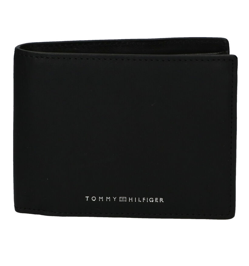 Tommy Hilfiger Portefeuille en Noir en cuir (285876)